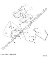 polaris rzr xp turbo r13 original spare parts and accessories  polaris rzr xp turbo r13 accessory stereo subwufr